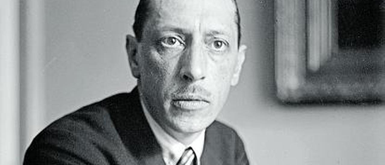 Igor Stravinsky, hacia 1930. | Wikipedia