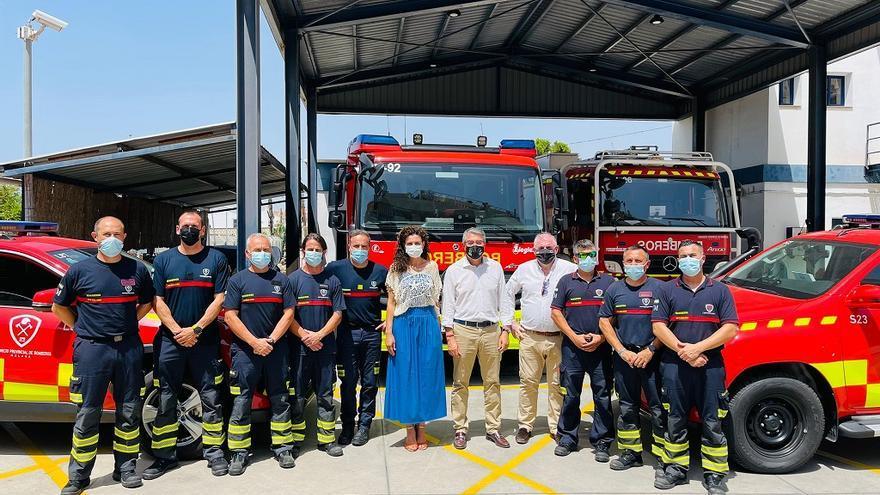 Rincón incorpora al parque de bomberos un camión ligero con 1.800 litros de capacidad