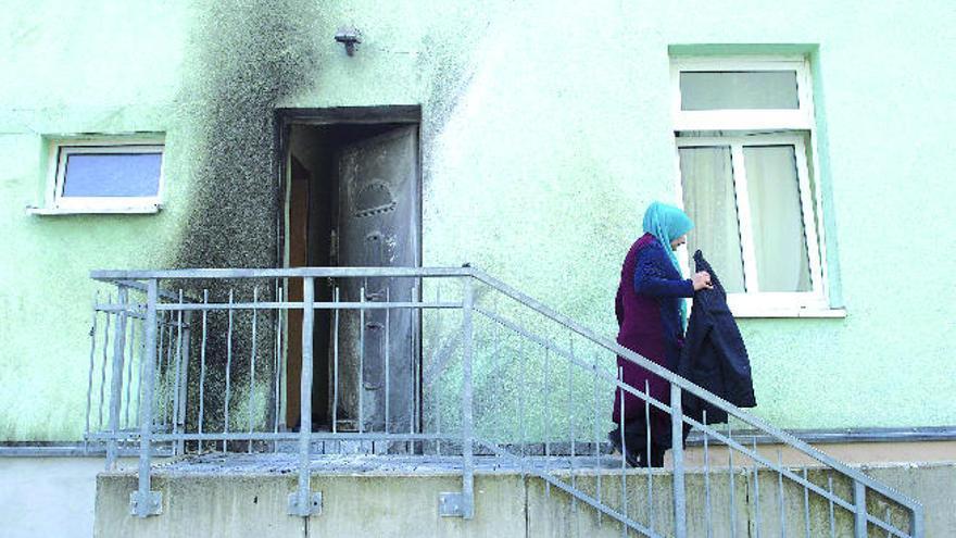 La policía investiga al líder islamófobo de Arona tras dos atentados en Dresde