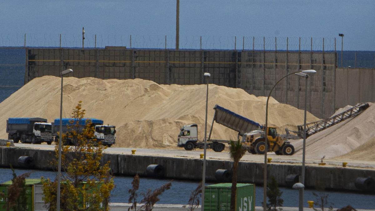 Agricultura resuelve que todo granel que genere partículas deberá ser tratado en la futura nave cerrada del Puerto