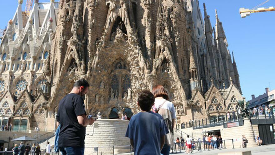 La Sagrada Família torna a obrir les seves portes als turistes