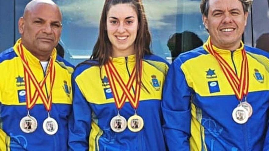 Medallas para tres sierenses en los Nacionales de kenpo