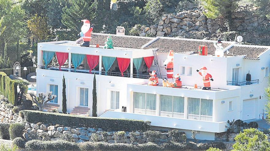 Los chalés de lujo se visten de Navidad en Xàbia