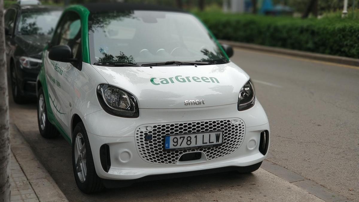 Uno de los coches de la compañía valenciana.
