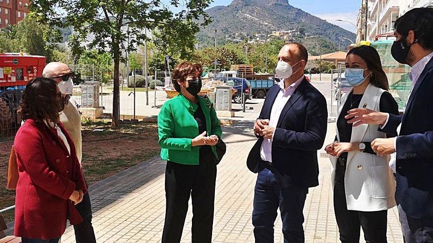 Dalmau asegura en la Vall que ve «mala praxis» bancaria en la compra-venta de pisos en Carmaday