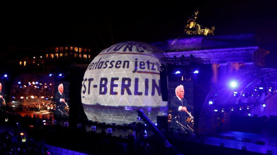 La Puerta de Brandeburgo, eje de los actos por el aniversario