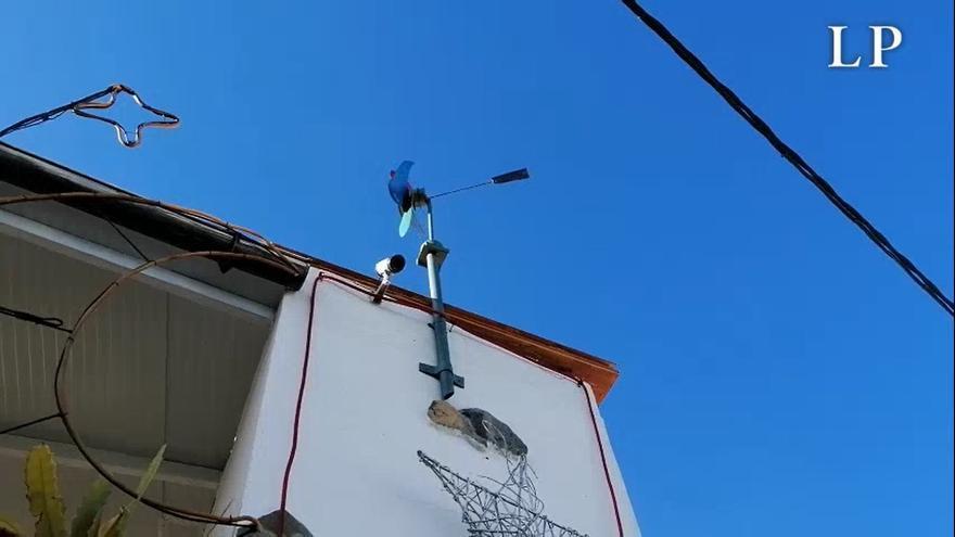 Canarias, en alerta por viento fuerte racheado y olas de hasta 5 metros