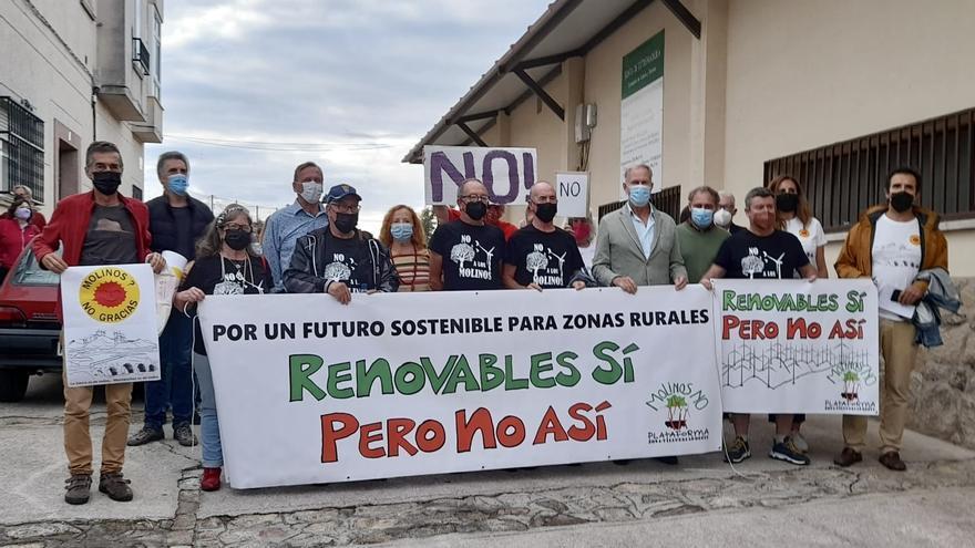 Montánchez revalida su 'no' al nuevo proyecto energético