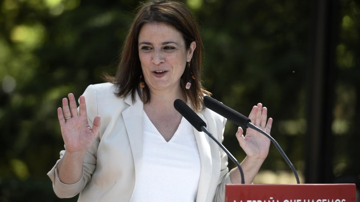 Adriana Lastra, coordinadora de Organización en el PSOE.