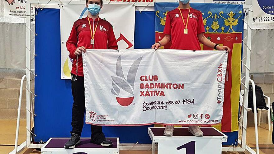 El CB Xàtiva logra 17 medallas en Enguera y el Campello