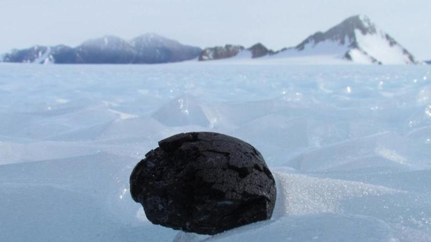 El meteorito, en una imagen de archivo.