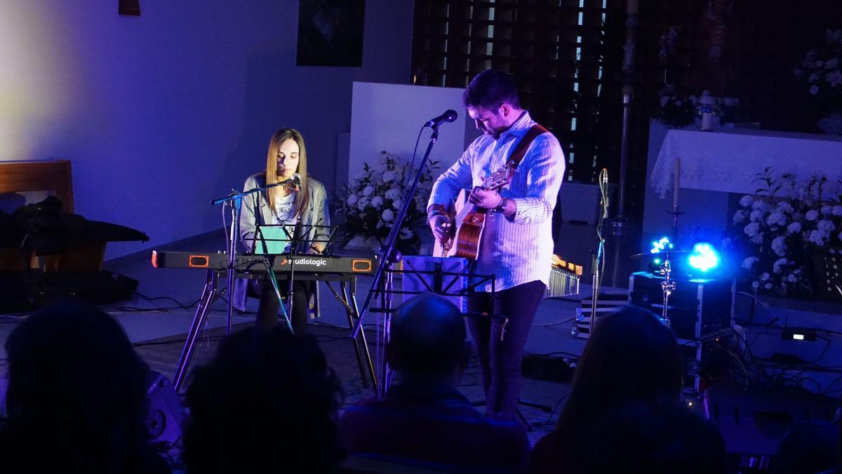 Concierto de Sara & Mingos en Jaén.