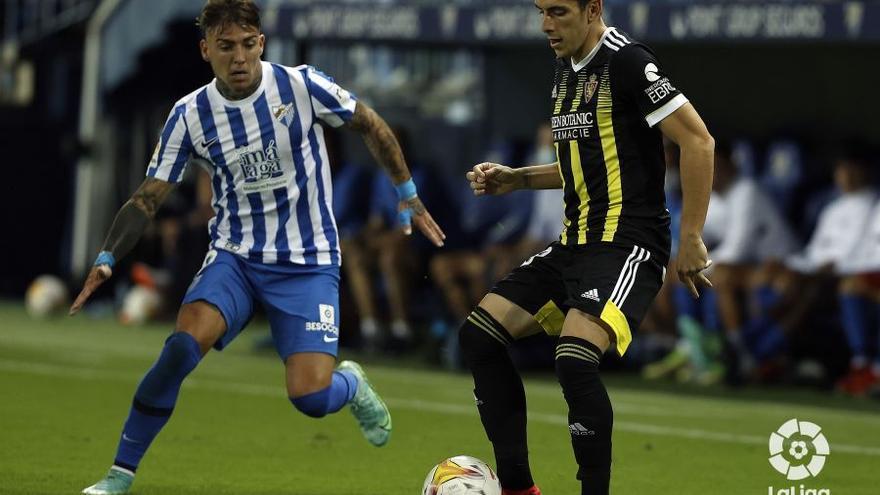 Málaga-Real Zaragoza, en directo