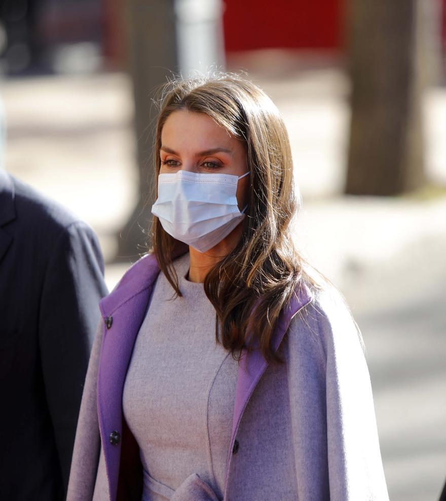 El contratiempo de la reina Letizia durante su visita a València