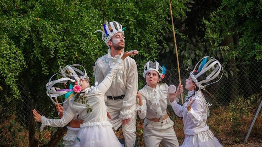 El espectáculo 'El Jardín del Viento' inaugura la nueva edición de la Feria Insular del Libro