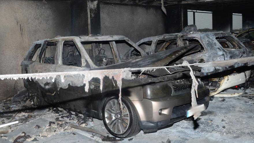 Nach Brand im Airport-Parkhaus: Polizei nimmt Schweizer fest