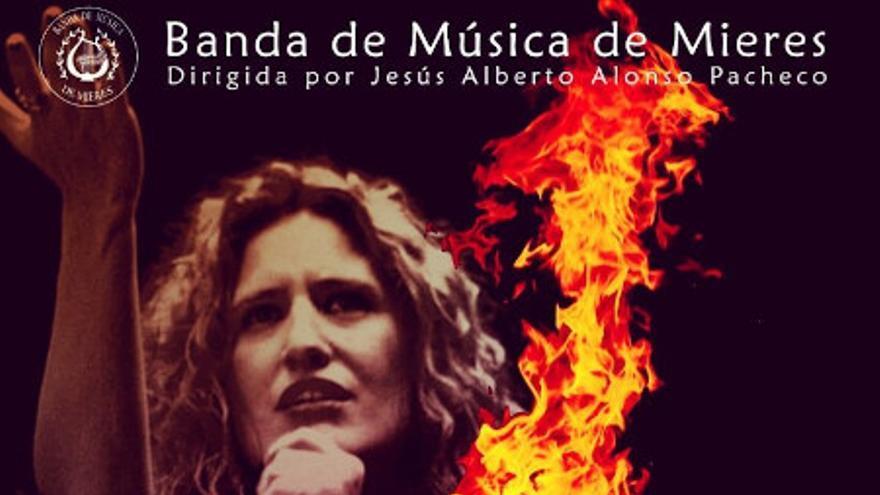 Tovía nun ye San Xuan: Anabel Santiago y Banda de Música de Mieres