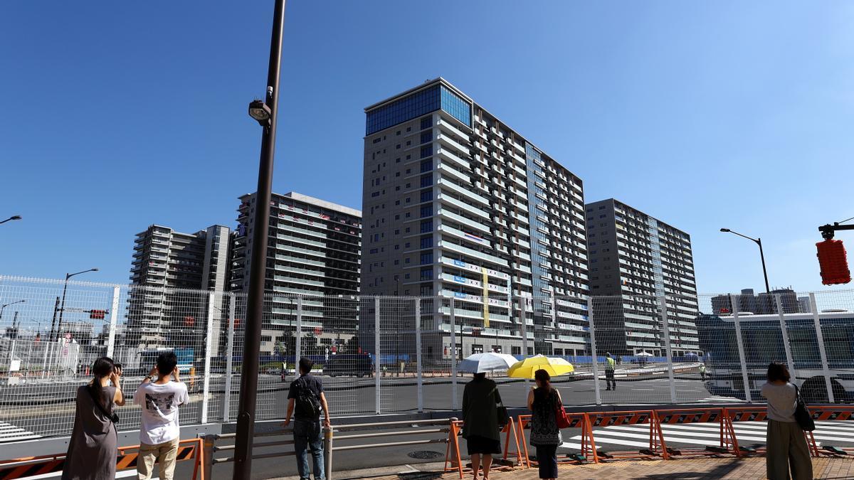 Edificios de la Villa Olímpica de Tokio.