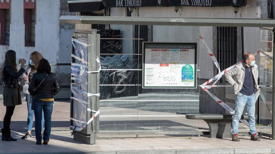 Malestar entre vecinos y comerciantes del barrio de Gamonal (Burgos) por los altercados del viernes