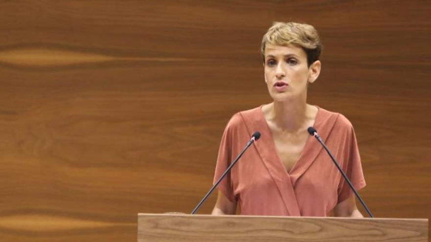 Maria Chivite, investida presidenta de Navarra amb el suport de PSN, Geroa Bai, Podem i I-E i l'abstenció d'EH Bildu