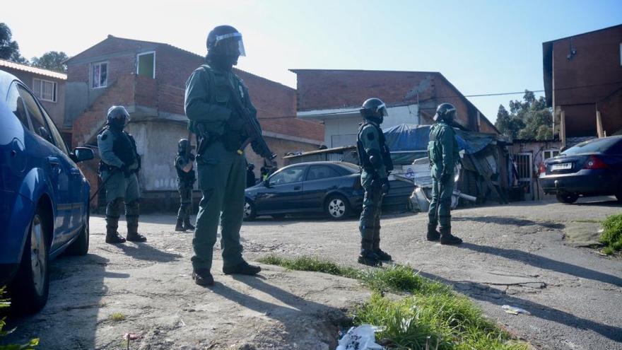 Narcotráfico en Galicia   Varios detenidos en una redada contra el menudeo de droga en O Vao