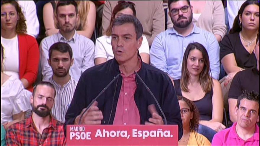 Sánchez hará una oferta a cada partido, si gana, 48 horas después de las elecciones