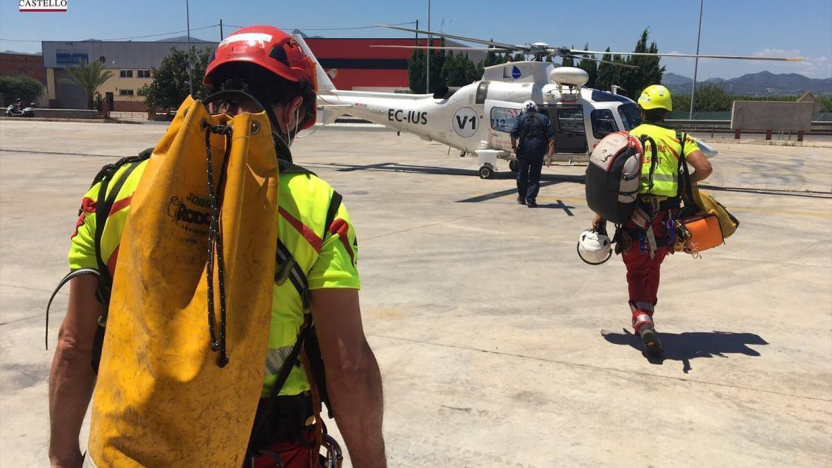 Movilizado un rescate a un hombre que ha sufrido una caída en el Penyagolosa