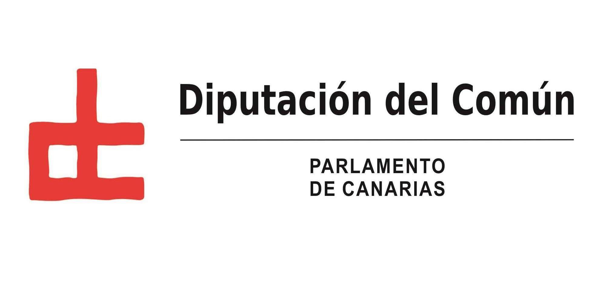 Logo Diputación del Común - Parlamento de Canarias