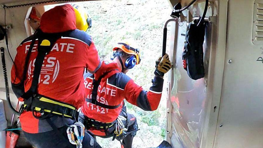 Herida una senderista al caerse en Garachico