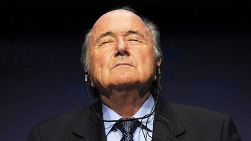 Blatter será suspendido como presidente de la FIFA
