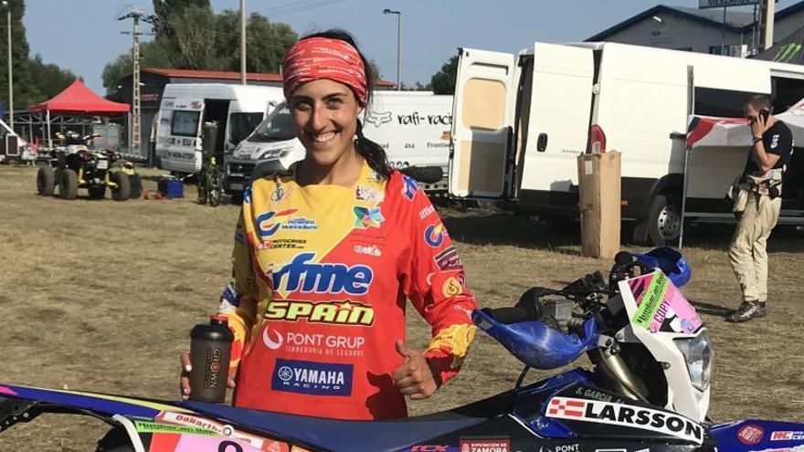 Sara García acaba en tercer lugar el Mundial de Bajas 2019