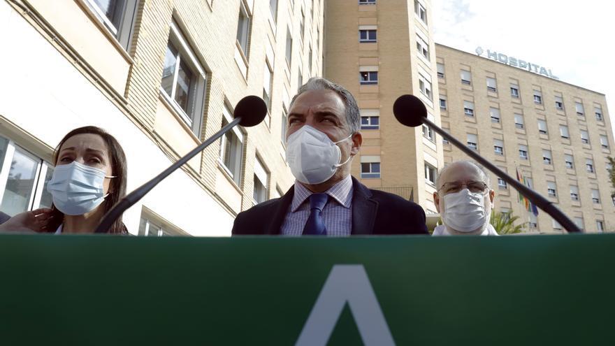 """Bendodo: """"Andalucía espera que la desescalada coincida con la vacunación masiva"""""""