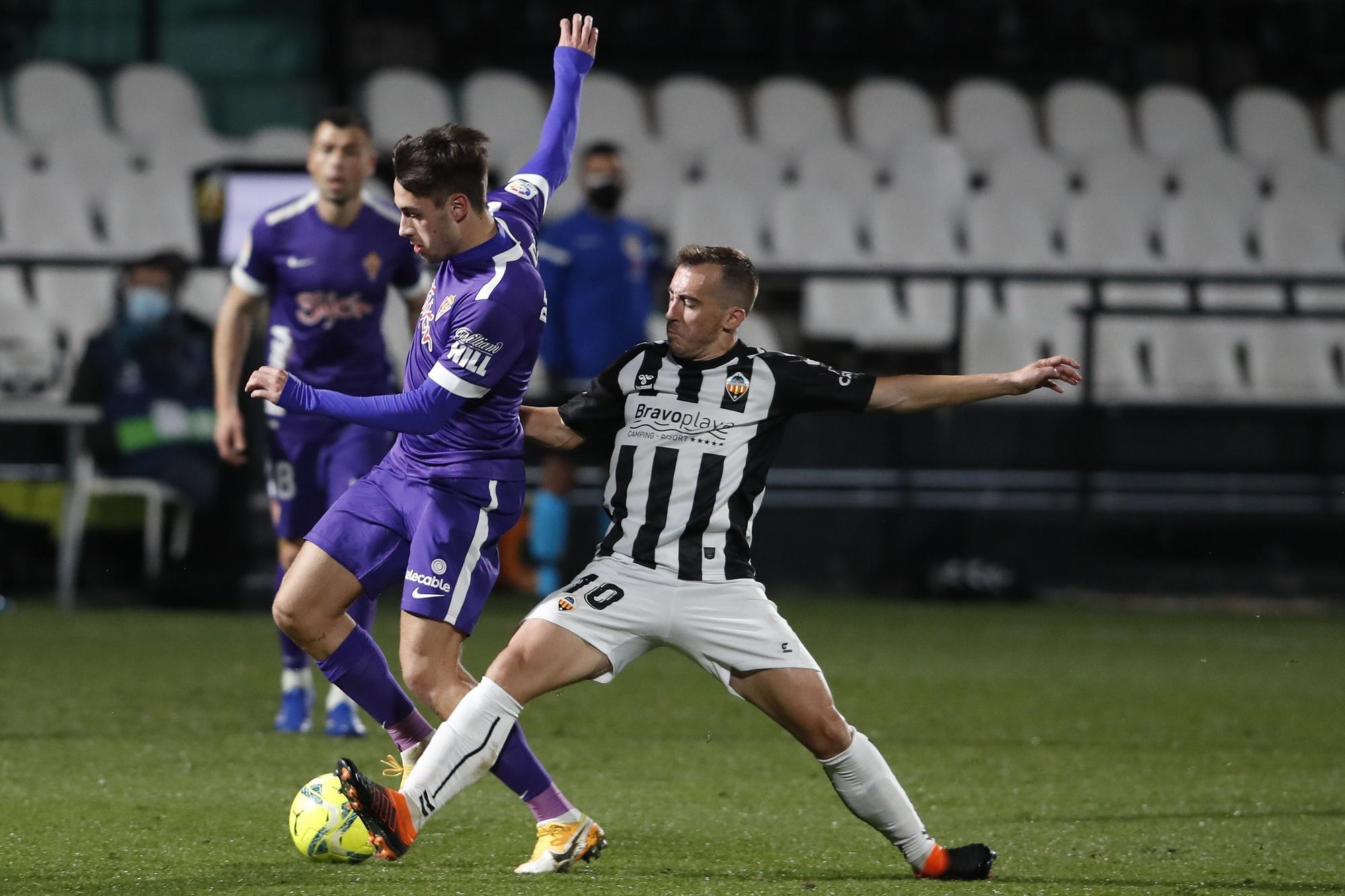 Las imágenes del Castellón - Sporting