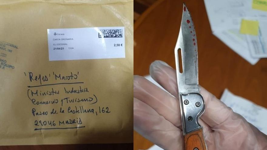 El remitente de la carta con una navaja para Maroto es un hombre que padece una enfermedad mental