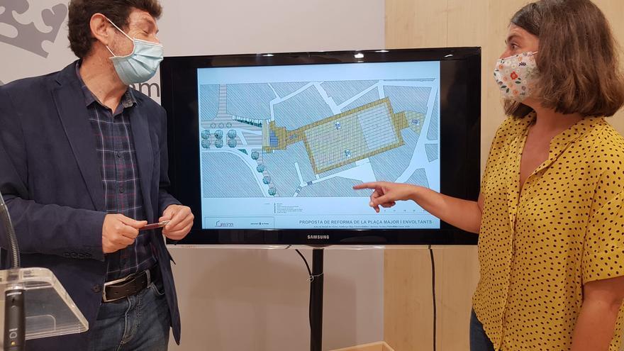Las galerías de la plaza Major continuarán cerradas al menos hasta 2022