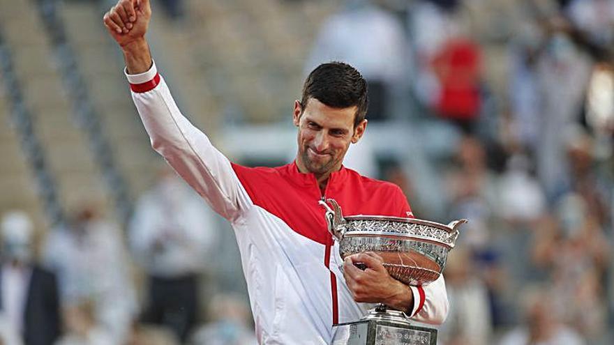 Djokovic s'emporta el Roland Garros