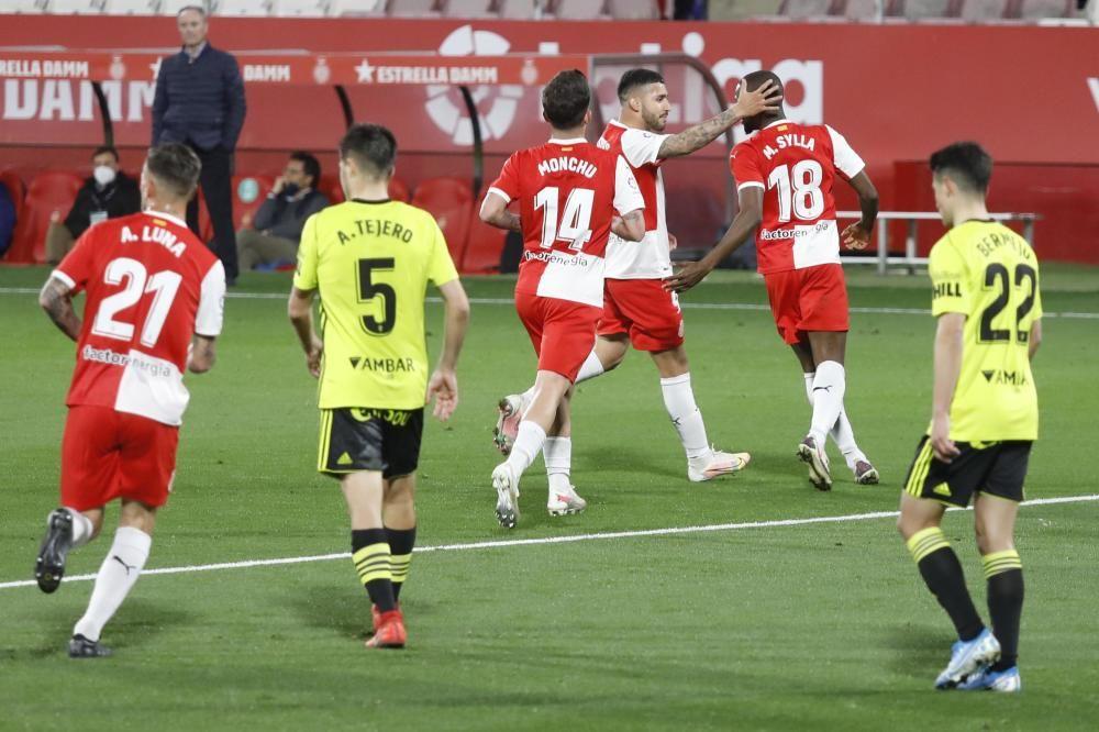 Les imatges del Girona-Saragossa (3-0)