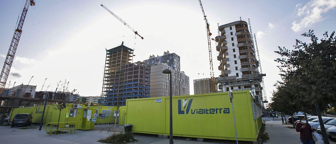 Solar de Malilla en el que se construirá el nuevo retén de la Unidad 2 de Distrito de la Policía Local de València.