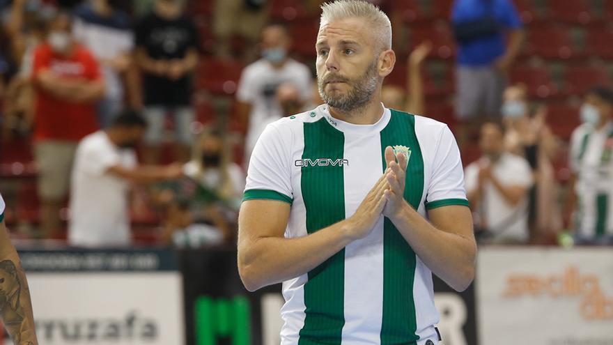 """Miguelín y su deseo en el Córdoba Futsal: """"Que el Palacio ruja"""""""