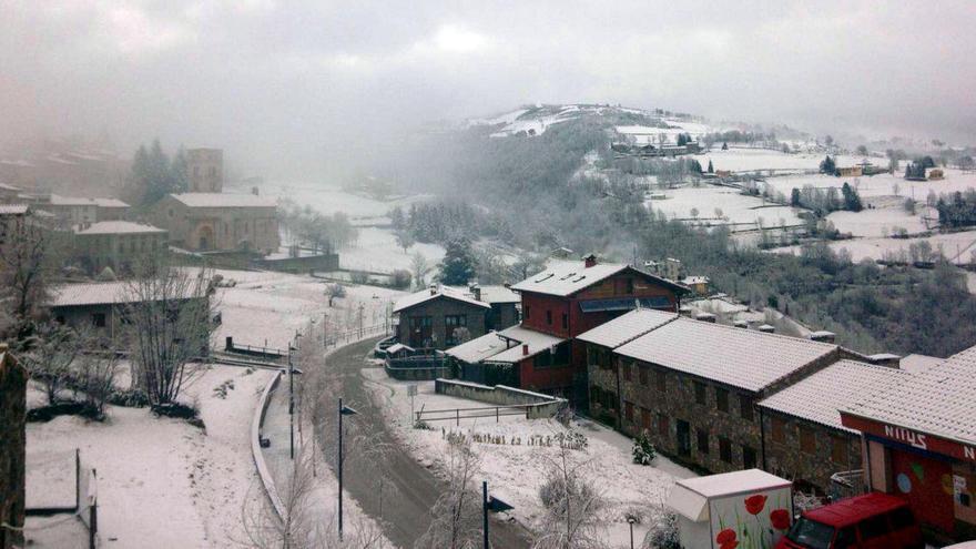 Una onada de fred portarà neu a Girona els propers dies