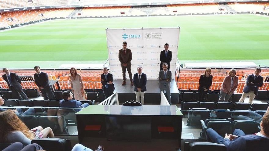 IMED y la UCV presentan el Servicio de Alto Rendimiento a los líderes del deporte valenciano