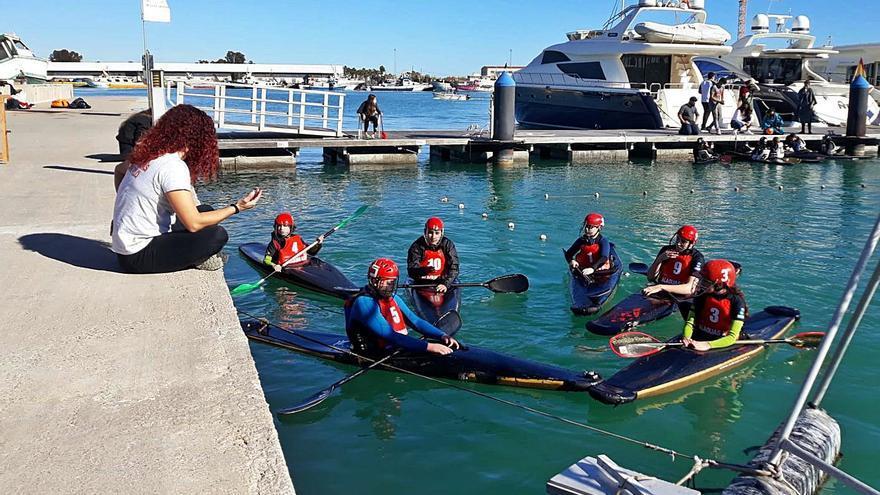 El Alaquàs Kayak Polo inicia la Liga Autonómica con el liderato en sub-17