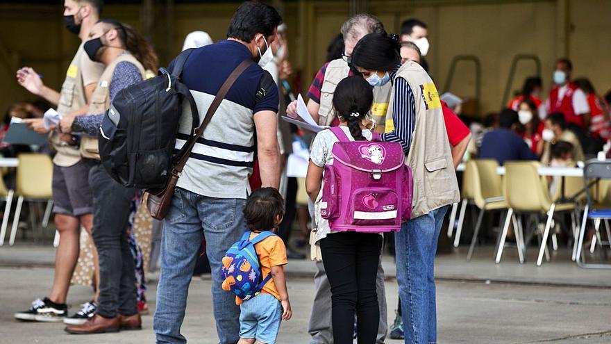 Zamora acoge a siete refugiados de Afganistán, entre ellos un menor de edad