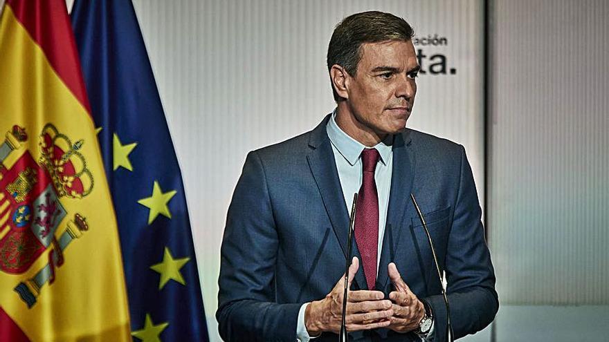 Sánchez rebutja posar un termini de dos anys a la taula
