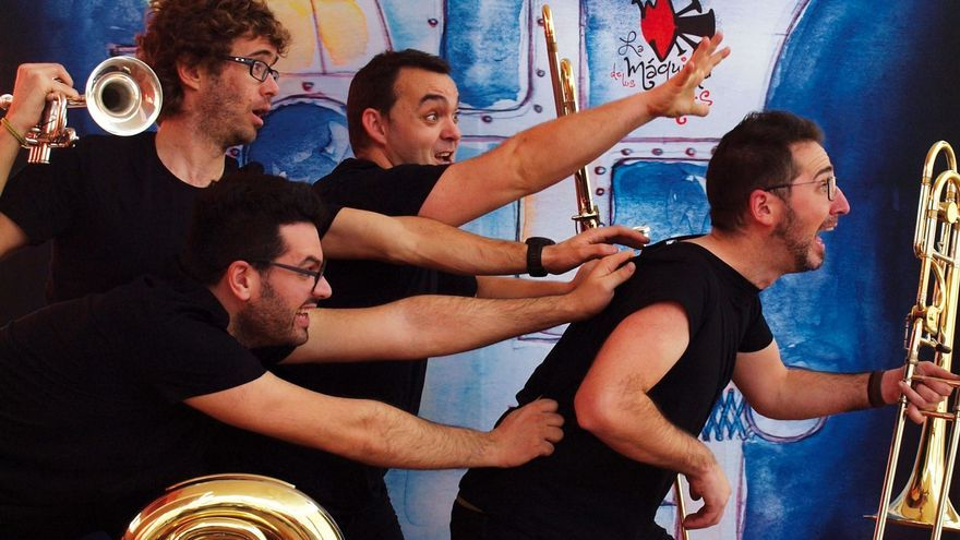 """""""Tuba & Bones"""" presenta en el Teatro Latorre de Toro """"La máquina de los vientos"""""""