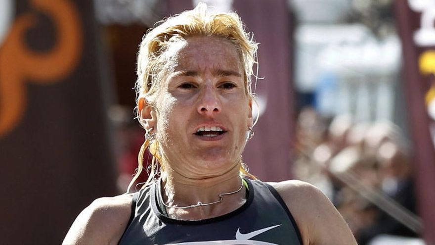 Marta Domínguez vuelve a ser deportista de alto nivel