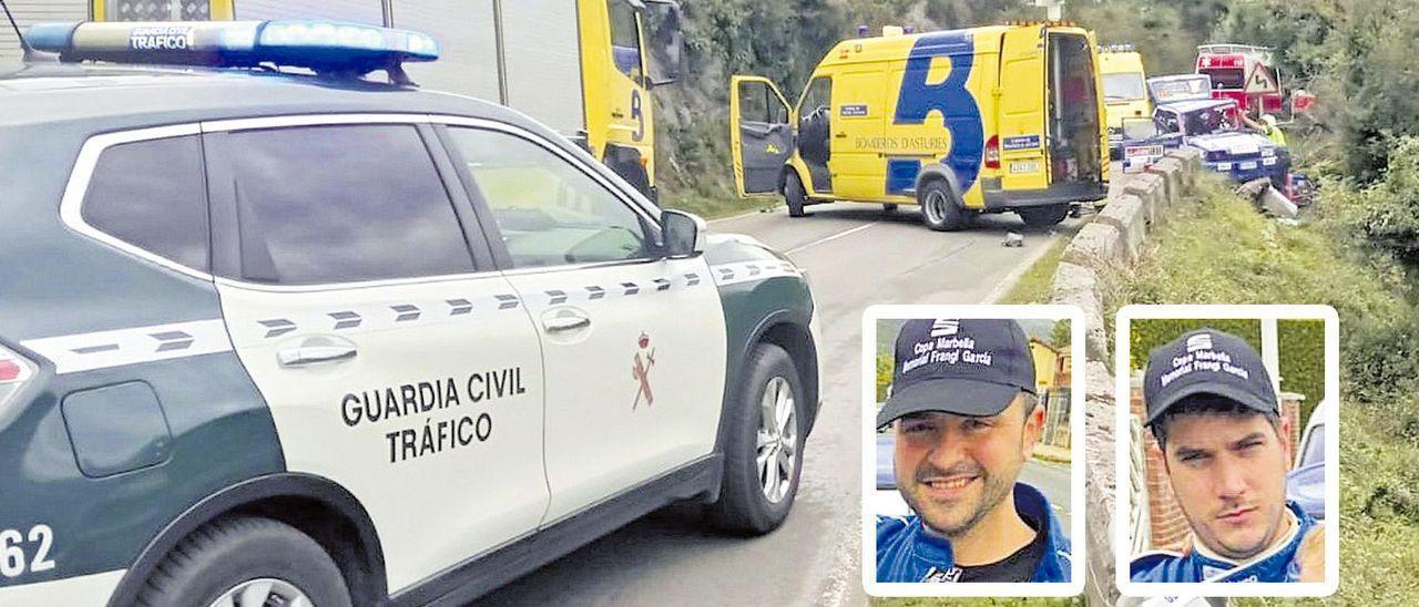 Trágico accidente en el Rallye Villa de Llanes.