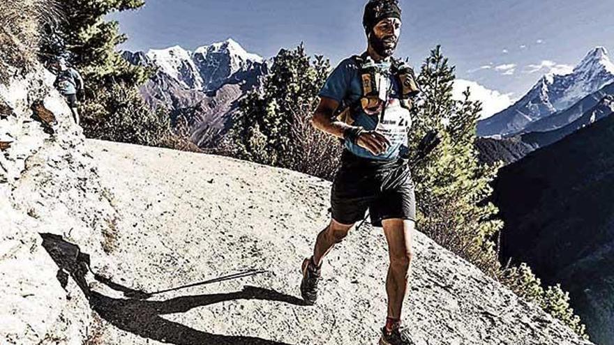 Toni Coll cierra el Everest Trail en quinta posición