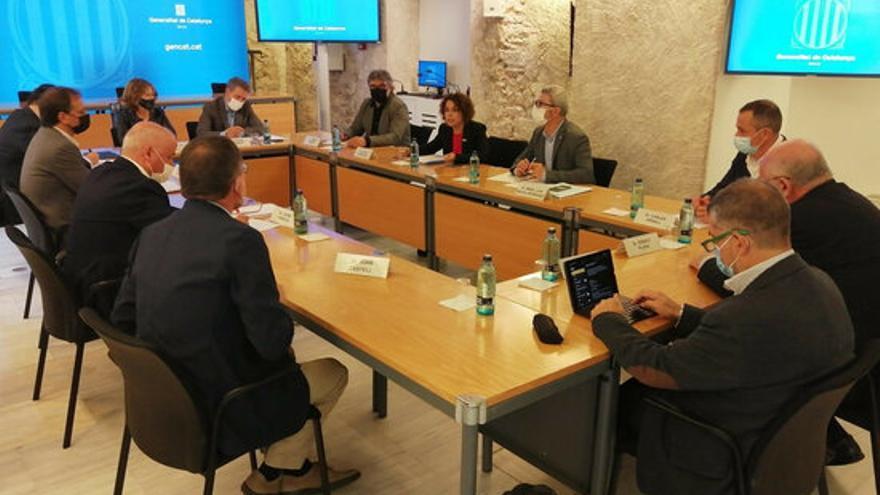 El Govern i l'empresariat gironí es reuneixen per planificar el futur de la Formació Professional a la demarcació