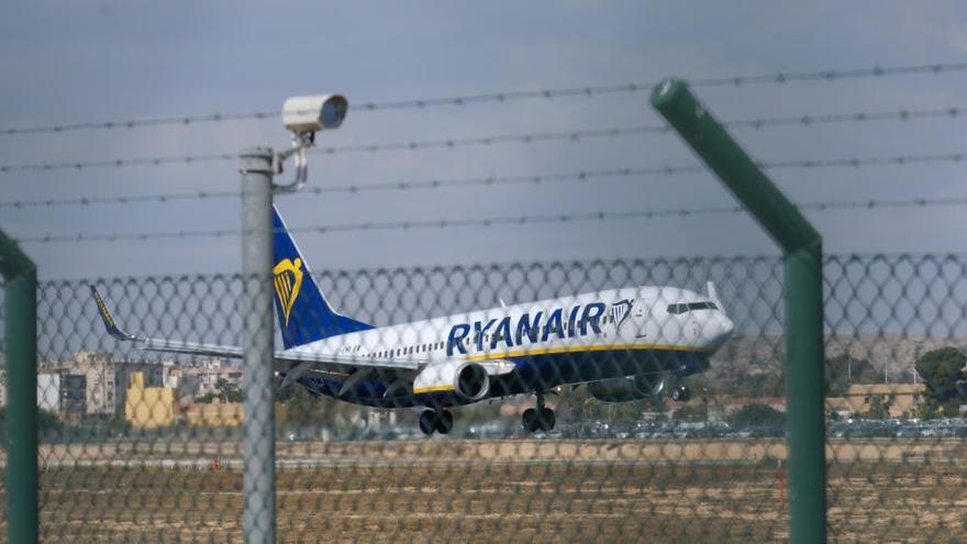 Ryanair prevé reducir un 20% los vuelos en septiembre y octubre
